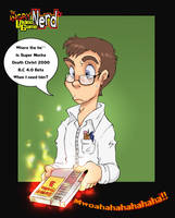 Fan Art-Angry video game nerd by Grethe--B