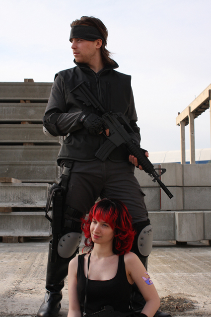 Metal Gear Solid cosplay 002 by Grethe--B