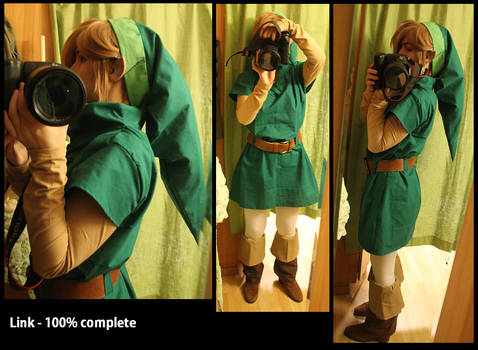 Link - Oracle of seasons/Ages 100% complete