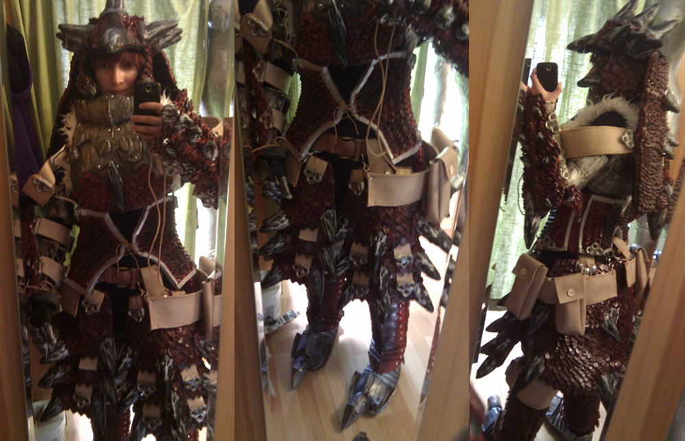 Rathalos armor test run by Grethe--B