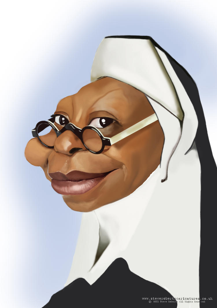 Whoopi goldberg Caricature by Steveroberts