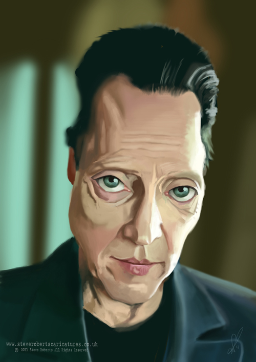 Christopher Walken Caricature by Steveroberts