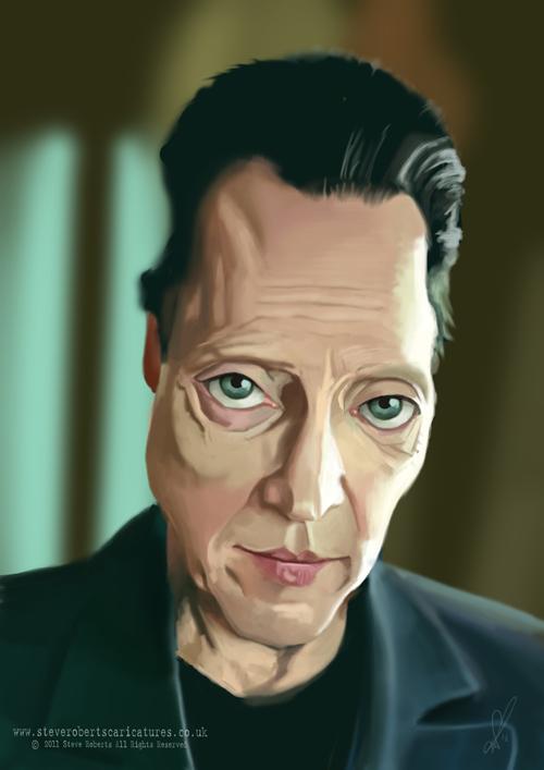 Christopher Walken Caricature by Steveroberts