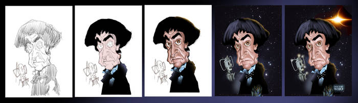 Dr Who - Patrick Troughton Process