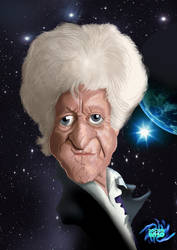 Dr Who 50th Anniversary The 3rd Doctor Jon Pertwee