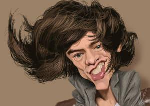 Harry Styles Caricature