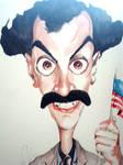 Borat caricature