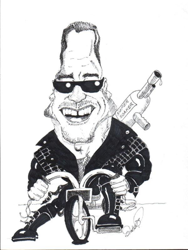 Arnie caricature by Steveroberts