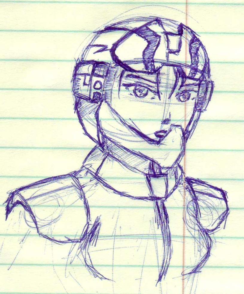 Pilot Sketch by TatsujinEdge
