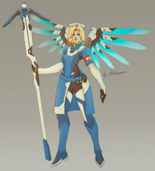 Mercy Overwatch  Skin