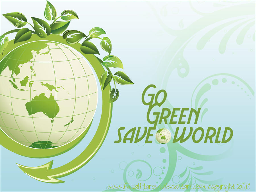 Go Green By Faisalharoon Bagroud