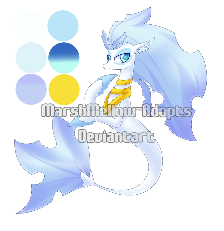 [Open] Seapony Queen - MLP Adoptable by MarshMellow-Adopts