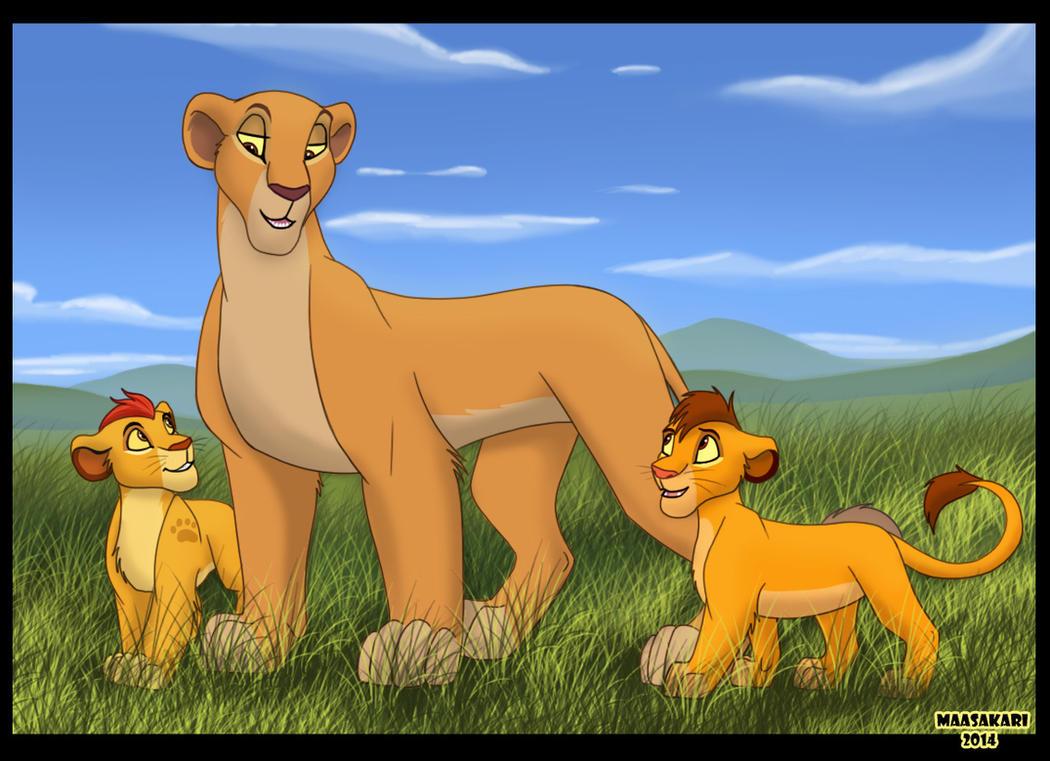 New Generation of Pridelands by MaasAkari