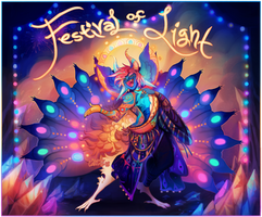{Advent Auction} Festival of Light [closed] by AgentCorrina
