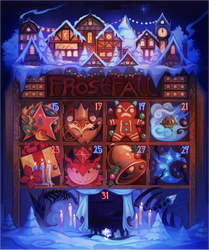 {Advent} Frostfall 2019 by AgentCorrina