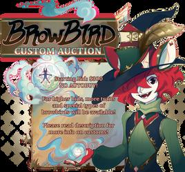 {Auction} Browbird Custom [closed] by AgentCorrina
