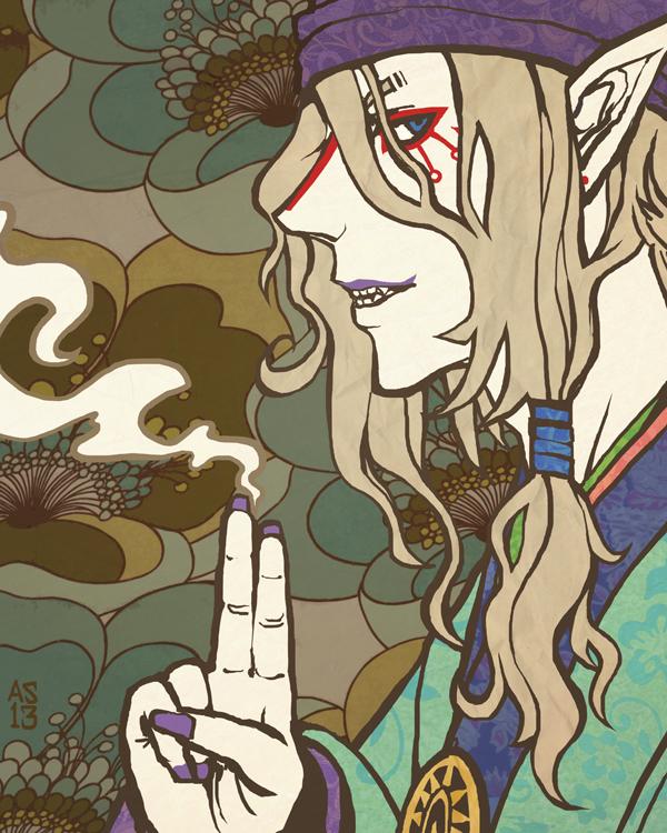 Kusuriuri by driftwoodwolf