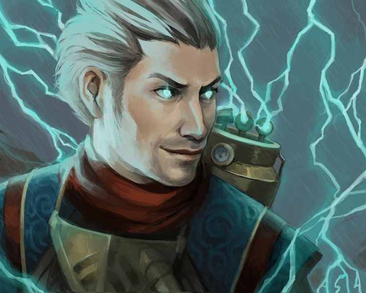 Ral Zarek by driftwoodwolf on DeviantArt