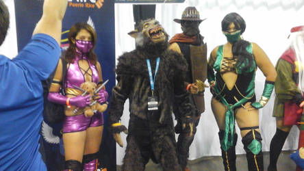 werewolf and mortal kombat x  by wolfpr