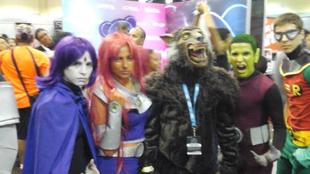 werewolf and teen titans by wolfpr