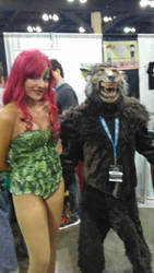 poison ivy and werewolf by wolfpr