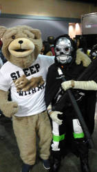 death gun and ted by wolfpr