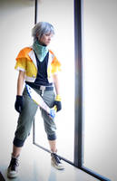 FFXIII - On the Edge by Hazuza