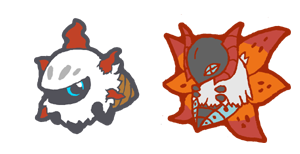 qt larvesta and volcarona