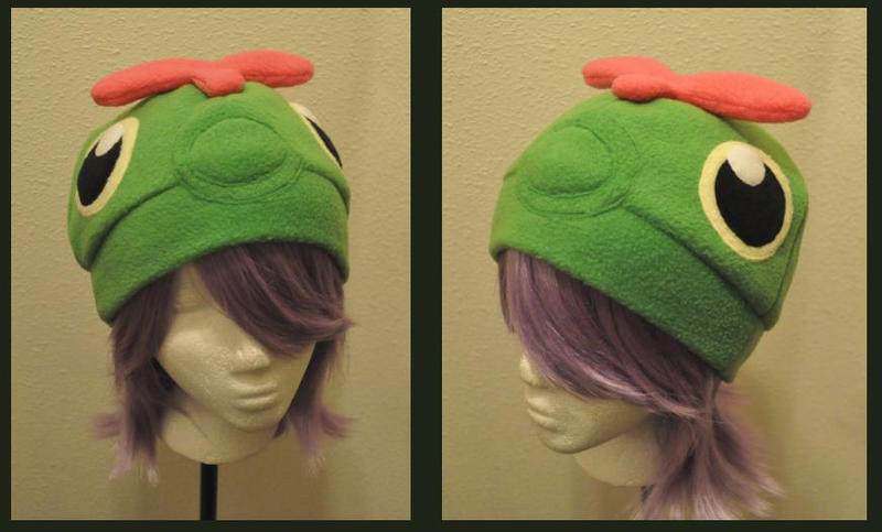 Caterpie Hat by Hazuza
