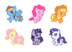 qt My Little Pony FiM