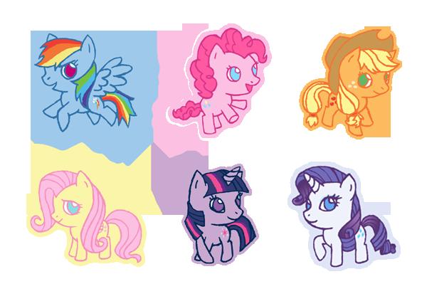 qt My Little Pony FiM by Hazuza