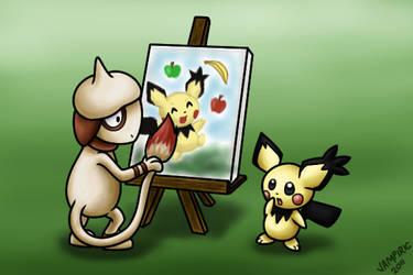 Pokemon Commission 10 by Xantaria