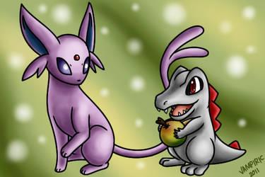 Pokemon Commission 11 by Xantaria