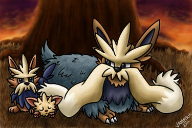 Pokemon Commission 15 by Xantaria