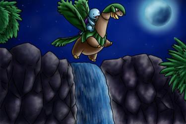 Pokemon Commission 16 by Xantaria