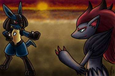 Pokemon Commission 18 by Xantaria