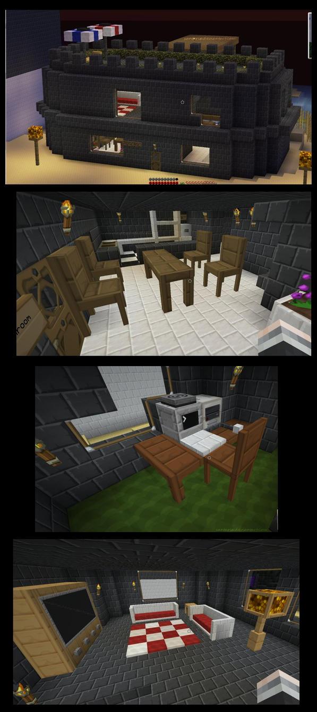 Minecraft Interior Design By Xantaria On DeviantART