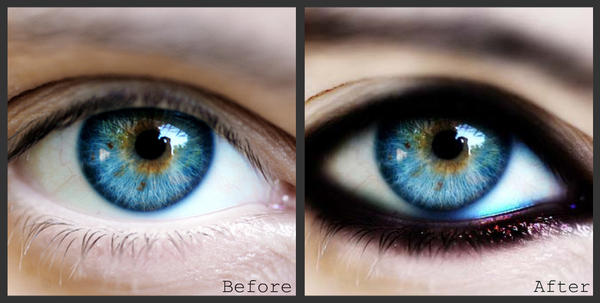 Photoshop fun - eye. by Tushies