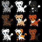 Natural Warrior Cats | Kitten Adopt | OPEN (6/9)