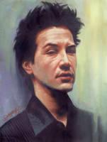 keanu reeves by Darrenheng