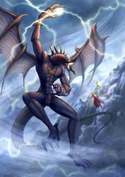 the battle by Darrenheng