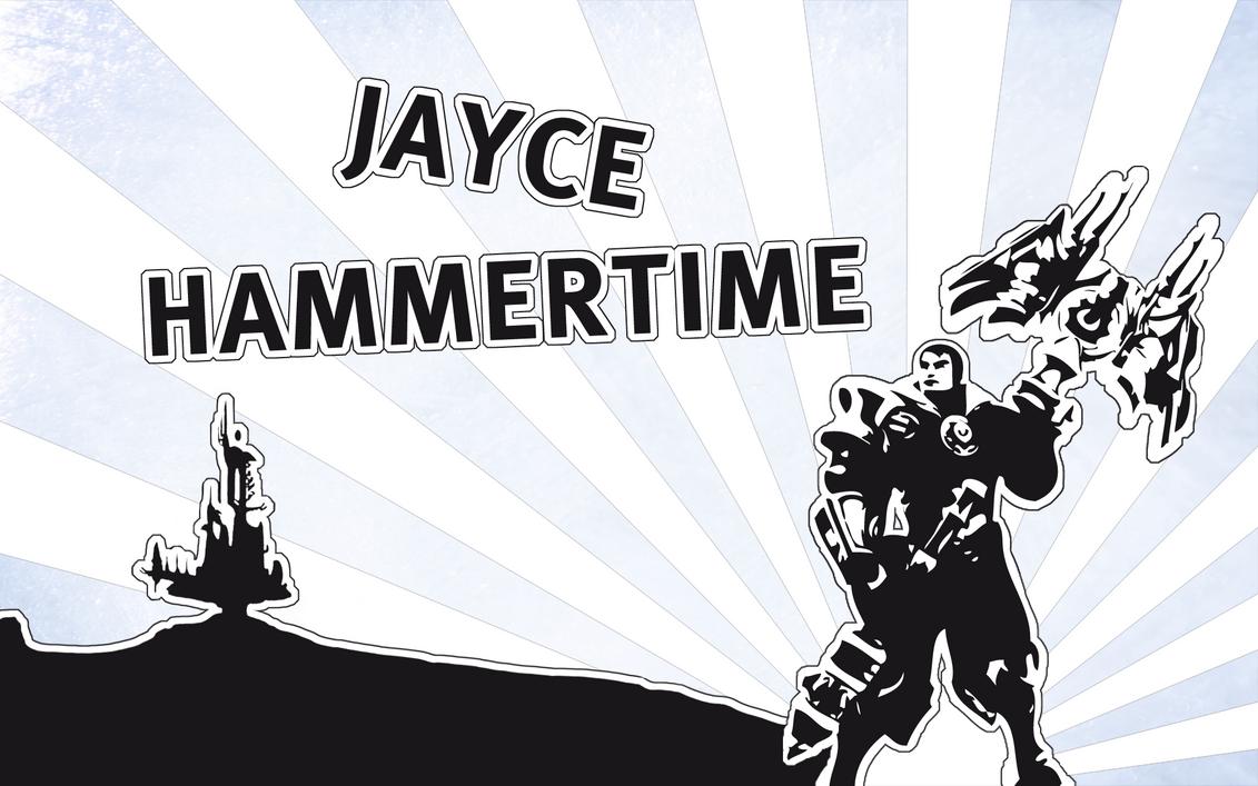 Jayce - Hammertime by deSess on deviantART
