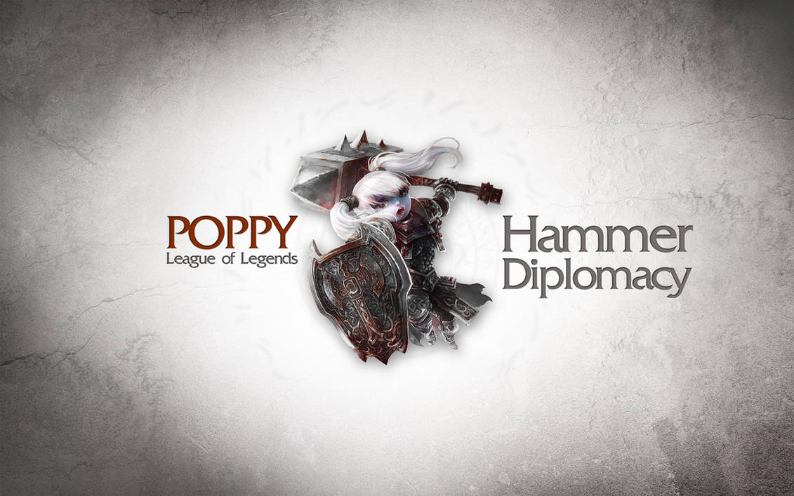League Of Legends Wallpaper Poppy By Desess On Deviantart