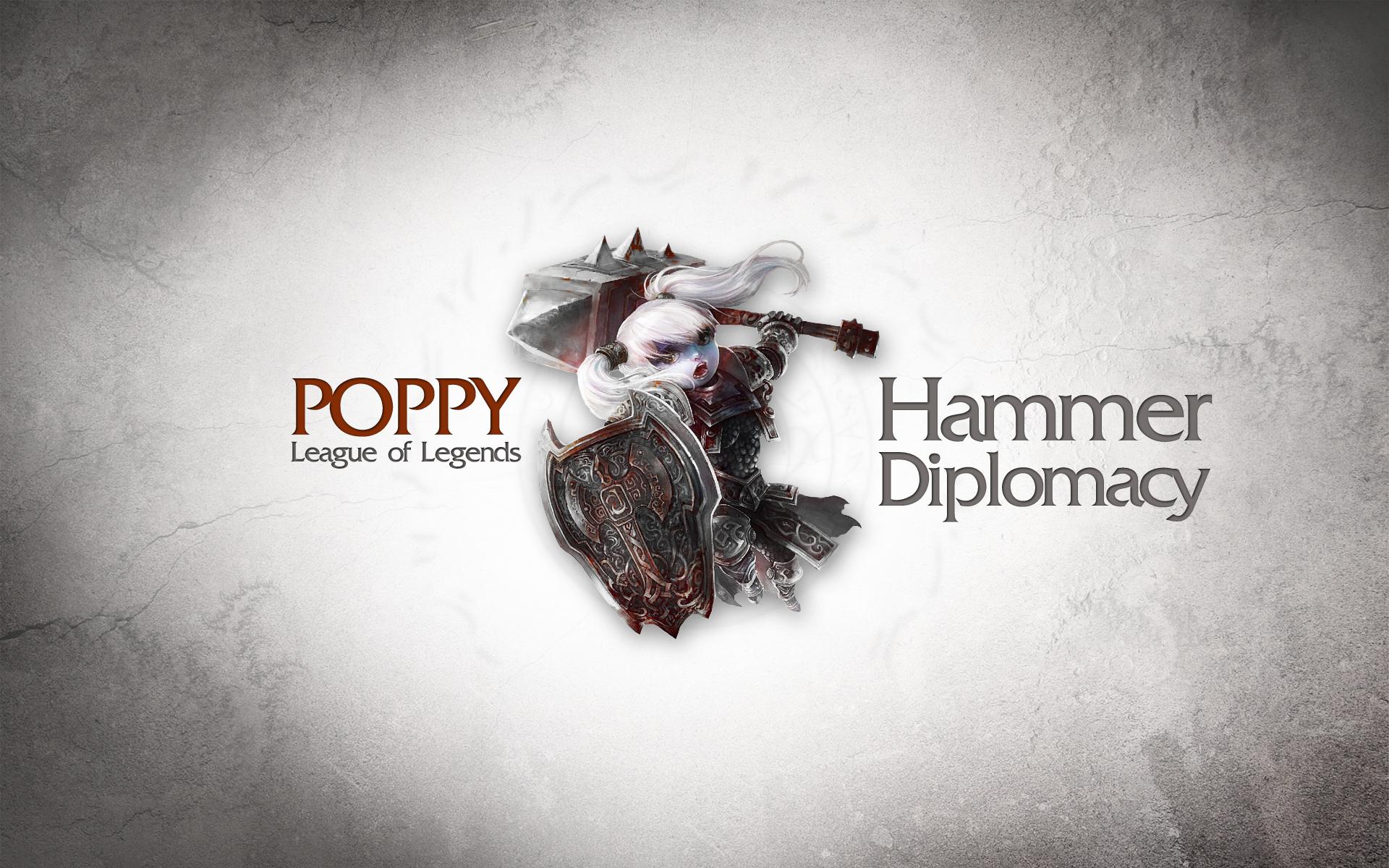 League Of Legends Poppy Wallpaper: Poppy League Of Legends Wallpaper