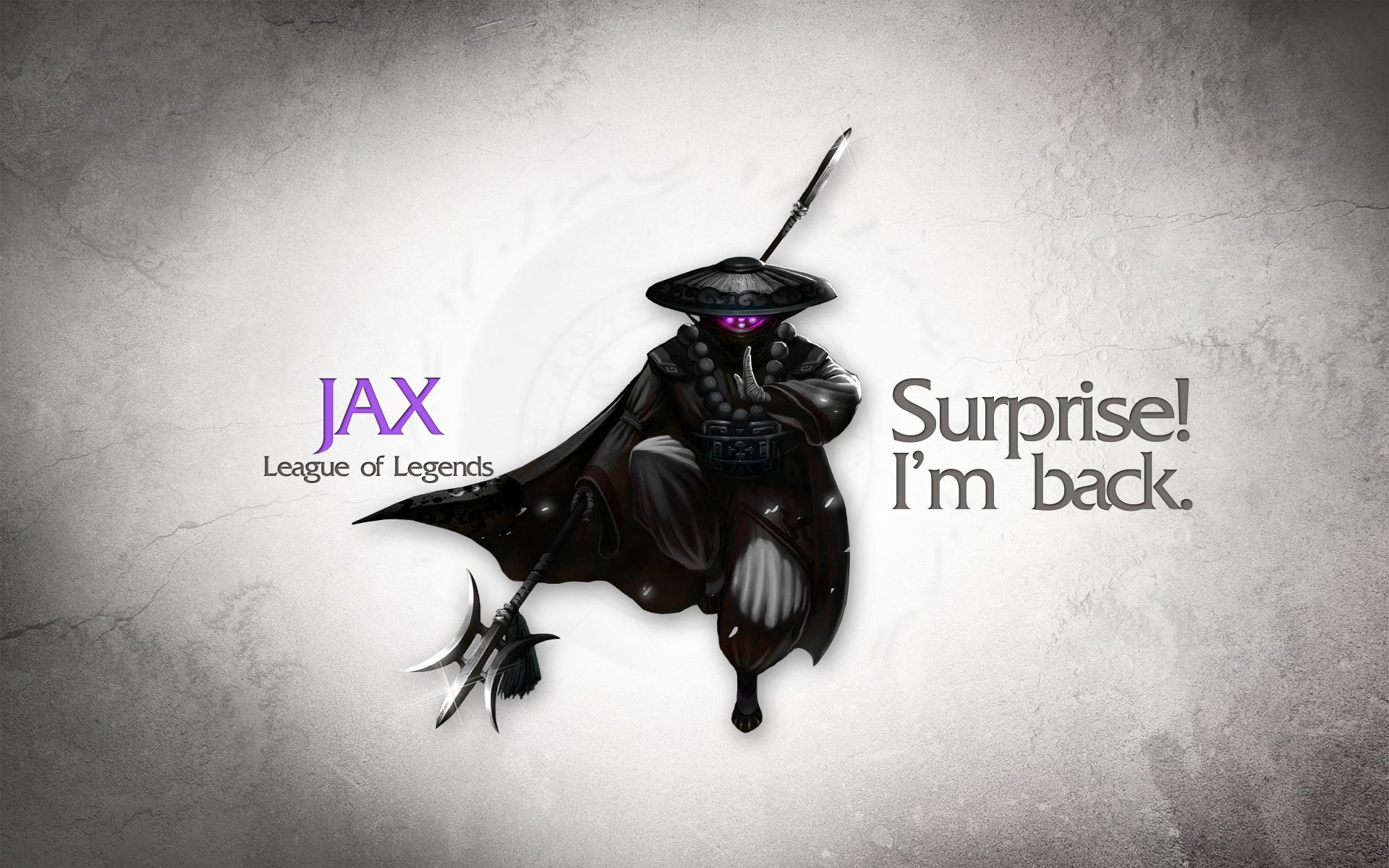 League of Legends Wallpaper - Jax by deSess on DeviantArt