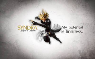 League of Legends Wallpaper - Syndra by deSess