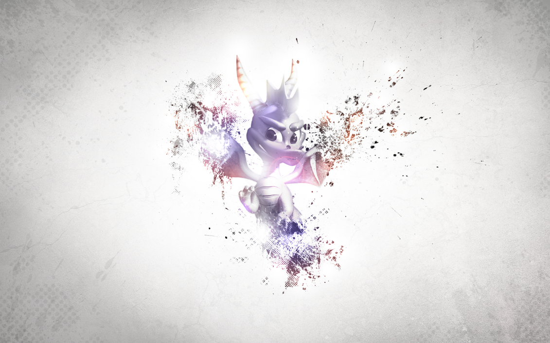 Spyro Splash Wallpaper by deSess on deviantART