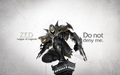 League of Legends Wallpaper - Zed by deSess