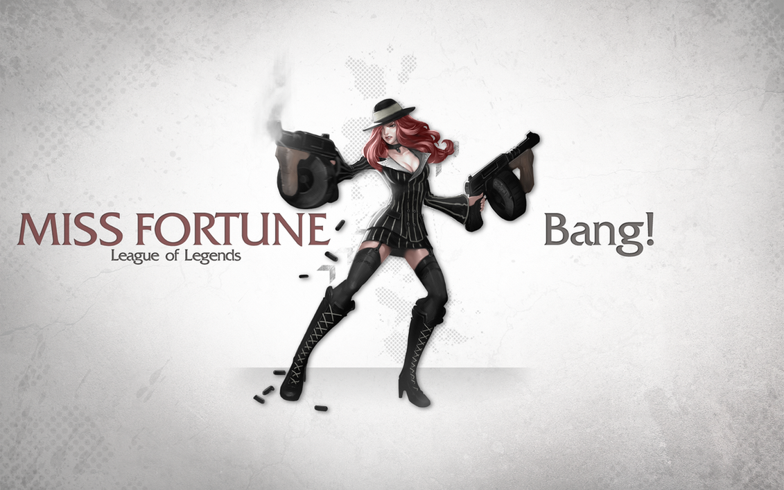 League of Legends Wallpaper - Miss Fortune by deSess on ...
