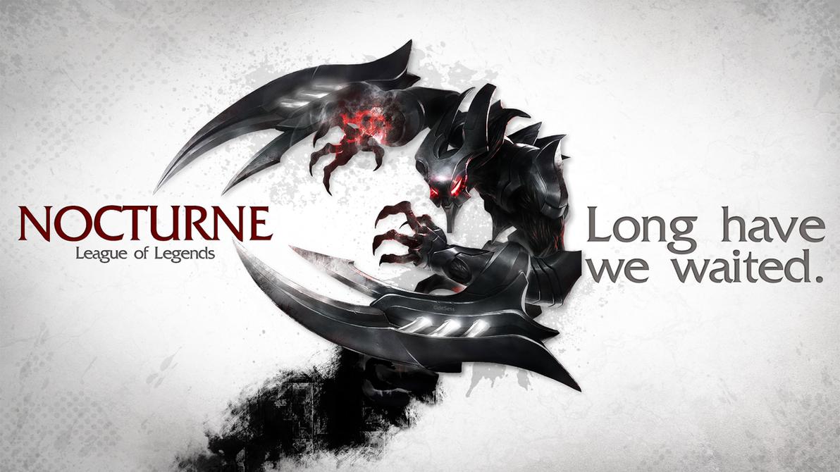 League of Legends Wallpaper - Nocturne by deSessEternum Nocturne Render